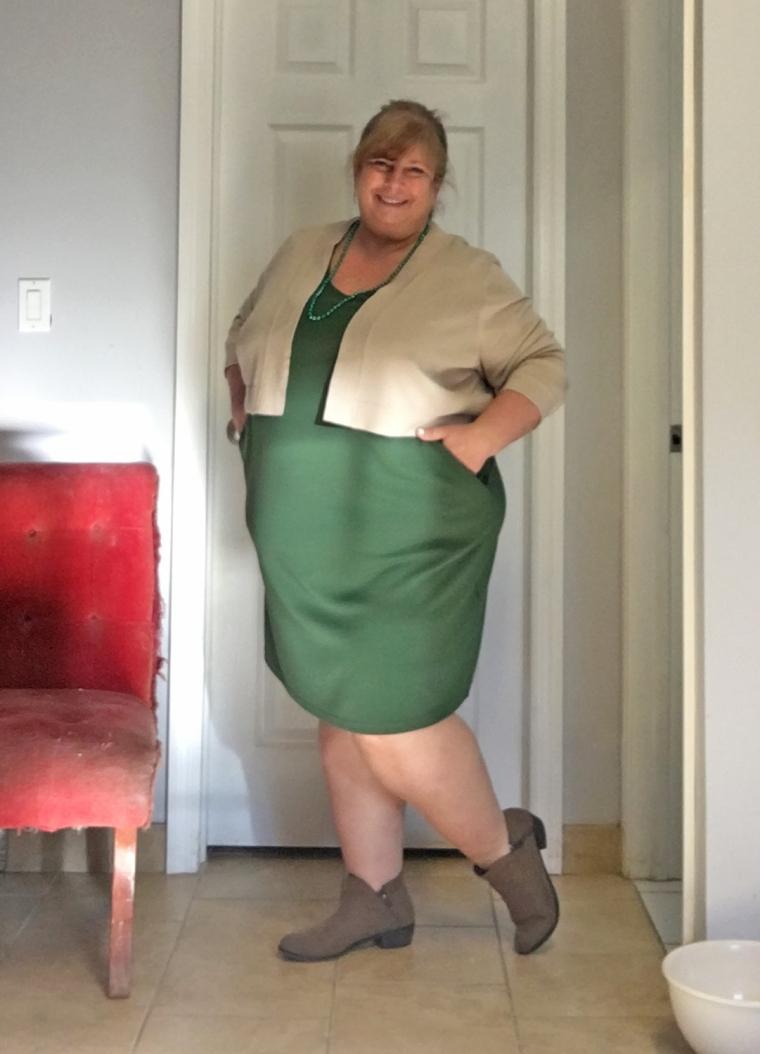 GREEN DRESS 3.17.16