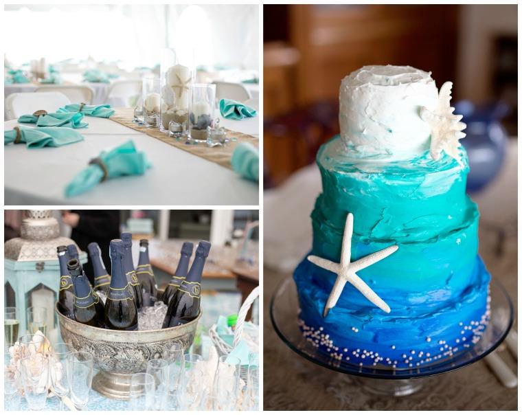 wedding dec collage