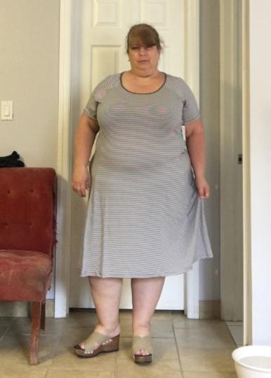 striped swing dress 2