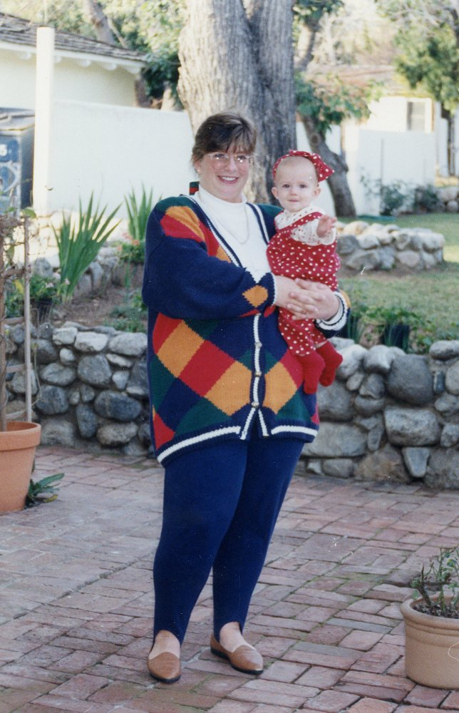 bettye and katie 1991 california