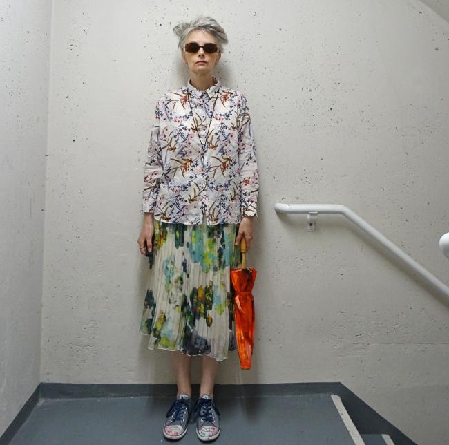 web mel kobayashi bag and a beret watercolour skirt july 2018